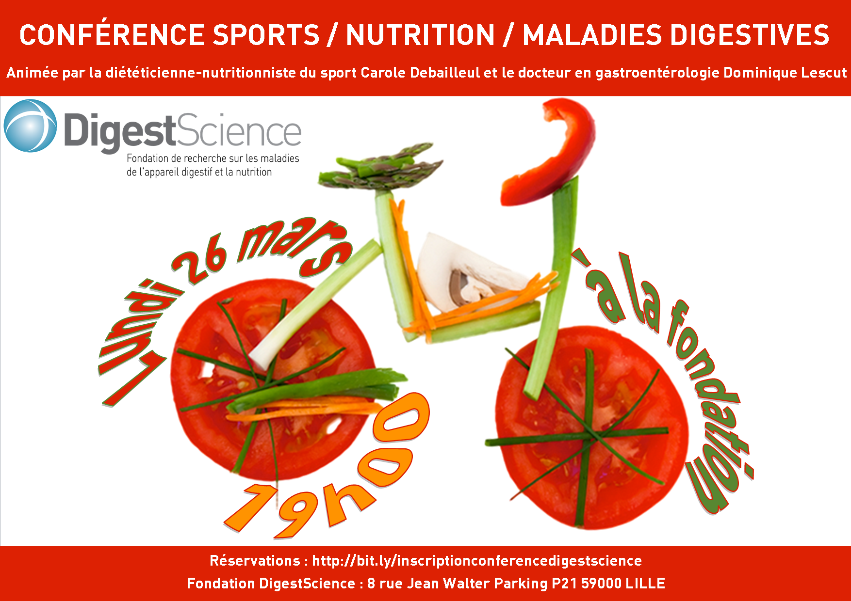 conference sports nutrition maladies digestives