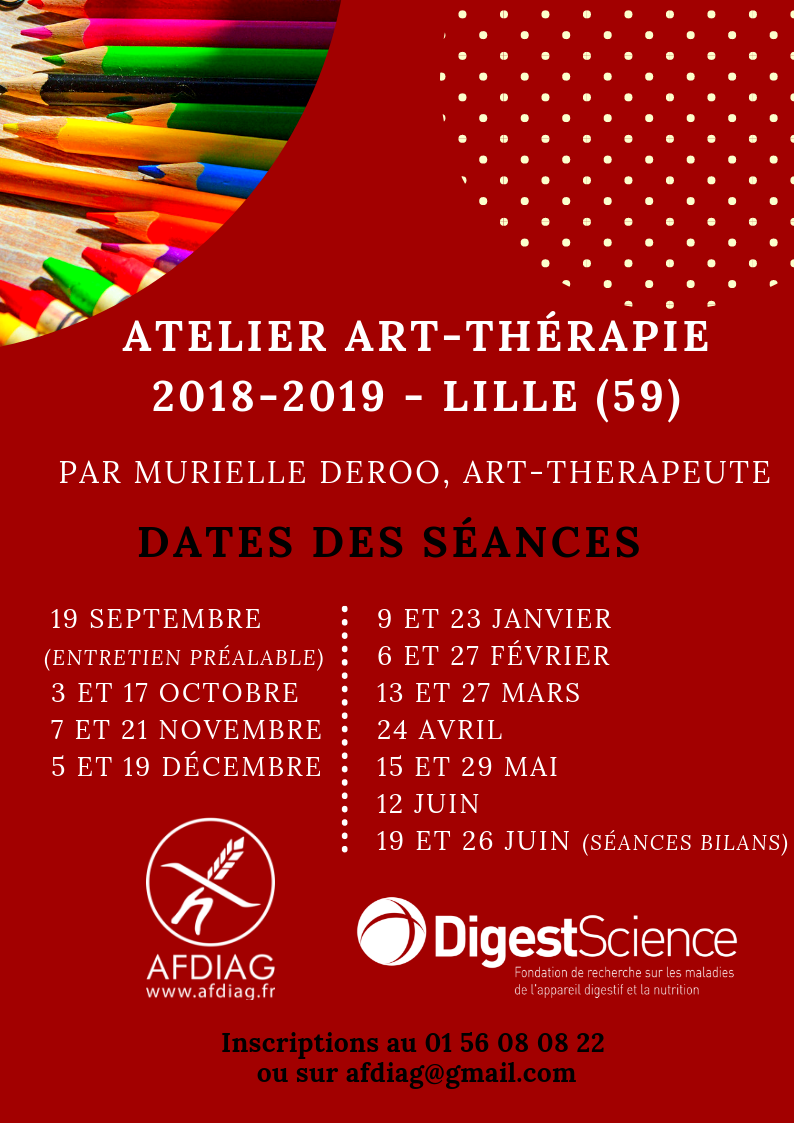 Atelier art therapie AFFICHE 1